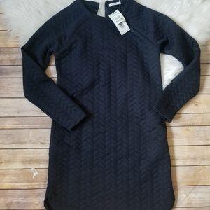 NWT Kenneth Cole navy blue dress